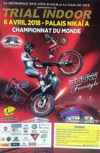 Trial Indoor Nice France Championnat du Monde 2018 world FIM